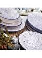 Bayev 24 Parça Yemek Takımı - 800222 Mavi